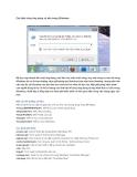 Các lệnh chạy ứng dụng có sẵn trong Windows