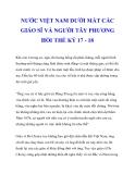 NƯỚC VIỆT NAM DƯỚI MẮT CÁC GIÁO SĨ VÀ NGƯỜI TÂY PHƯƠNG HỒI THẾ KỶ 17 - 18_3