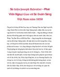 Sử kiện Joseph Balestier - Phái Viên Ngoại Giao và Sứ Đoàn Sang Việt Nam năm 1850_3