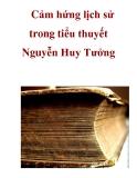 Cảm hứng lịch sử trong tiểu thuyết Nguyễn Huy Tưởng _1