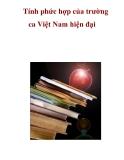 Tính phức hợp của trường ca Việt Nam hiện đại_1