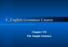 English Grammar Course - part 7