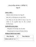 Giáo án tiếng việt lớp 2 - CHÍNH TẢ: Ngày lễ