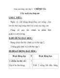 Giáo án tiếng việt lớp 2 - CHÍNH TẢ:  Cây xoài của ông em