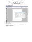 Giáo trình hướng dẫn cách tạo ảnh phông nền bằng phương pháp sử dụng bộ lọc filter gallery p1