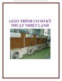 Bài giảng Cơ sở kỹ thuật nhiệt lạnh
