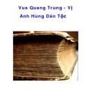 Tài liệu tham khảo: Vua Quang Trung - Vị Anh Hùng Dân Tộc
