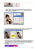 15 bài Actions Photoshop  phần 3