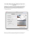 Cảm nhận những tính năng nổi bật của Mac OS X Lion 10.7