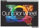 bánh xe màu sắc trong thiết kế website