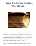 Dương đình Nghệ Và Kiều Công Tiễn ( 931-938)