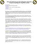 Giáo trình phân tích quá trình chống phân mảnh dung lượng ổ cứng bằng tính năng Clean system p1