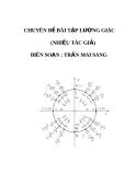 CHUYÊN ĐỀ BÀI TẬP LƯỢNG GIÁC 11 TỪ CƠ BẢN ĐẾN NÂNG CAO