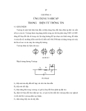 Giáo trình điện tử thông tin - Chương 4