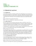 Kỹ thuật truyền số liệu - Chương 1