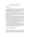 Nhiệt điện - Phần 3 Tuốc bin hơi và khí - Chương 7