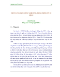 Giáo trình CDMA và thông tin di động - Phần 1 Ứng dụng công nghệ CDMA trong mạng thông tin di động - Chương 3