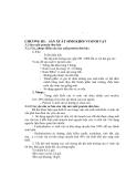 Giáo trình công nghệ sinh học thực phẩm II - Chương 3