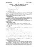 Giáo trình kỹ thuật thi công I - Phần 1 Công tác thi công đất - Chương 3