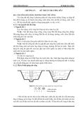 Giáo trình kỹ thuật thi công I - Phần 1 Công tác thi công đất - Chương 4