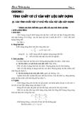 Giáo án vật liệu xây dựng - Chương 1