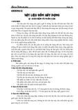 Giáo án vật liệu xây dựng - Chương 3