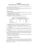 Tính toán thiết kế hệ thống điều hòa không khí - Chương 1