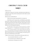Vật liệu chịu lửa - Chương 7