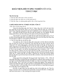 Giáo trình - Tâm lý học y học - chương 1