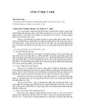Giáo trình - Tâm lý học y học - chương 5