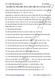 Bài tập tự luận tổng quát về dao động điều hòa con lắc lò xo