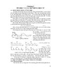 Giáo trình kỹ thuật điện tử - Chương số 1