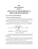 Giáo trình kỹ thuật truyền hình - Phần 2 Truyền hình màu - Chương 3