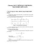 Ngắn mạch trong hệ thống điện - Chương 3