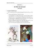 Giáo trình Vẽ Mỹ Thuật III & IV - Chương 2