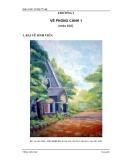 Giáo trình Vẽ Mỹ Thuật III & IV - Chương 3