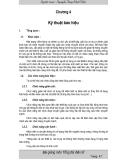Tổng đài điện tử và mạng viễn thông - Chương 4