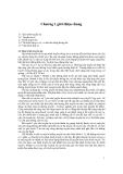 Truyền tin và tín hiệu - Chương 1
