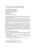 Truyền tin và tín hiệu - Chương 3