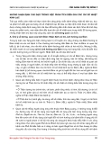 NHỮNG NHẬN ĐỊNH CHỦ ĐẠO TRONG VIỆC PHÂN TÍCH DIỄN GIẢI CÁC CHỈ SỐ NHIỆT KINH LẠC