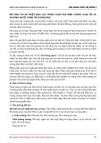 MÔ HÌNH CHỈ SỐ NHIỆT KINH LẠC TRONG TẠNG PHỦ BIỆN CHỨNG LUẬN TRỊ VÀ PHƯƠNG HUYỆT CHÂM TRỊ TƯƠNG ỨNG