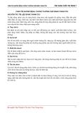 CHẨN TRỊ NHỮNG BỆNH, CHỨNG THƯỜNG GẶP BẰNG CHÂM CỨU NGUYÊN TẮC TRỊ LIỆU BẰNG CHÂM CỨU