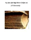 Tài liệu tham khảo: Vụ ám sát Ngô Đình Diệm và J.F.Kennedy
