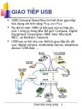 GIAO TIẾP USB