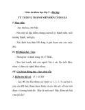 Giáo án khoa học lớp 5 - Bài dạy: TỪ TUỔI VỊ THÀNH NIÊN ĐẾN TUỔI GIÀ I. Mục