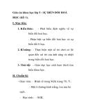 Giáo án khoa học lớp 5 - SỰ BIẾN ĐỔI HOÁ HỌC (tiết 1)