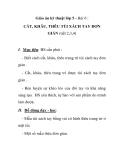 Giáo án kỹ thuật lớp 5 - Bài 6 : CẮT, KHÂU, THÊU TÚI XÁCH TAY ĐƠN GIẢN (tiết 2,3,4)