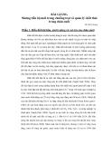 Bài giảng Những tiến bộ mới trong chuồng trại và quản lý chất thải trong chăn nuôi part 1