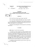 Nghị định số 56 năm 2011 của CP