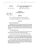 Nghị định số 57 năm 2011 của Chính phủ